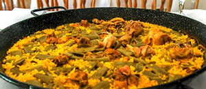 All sorts of paellas