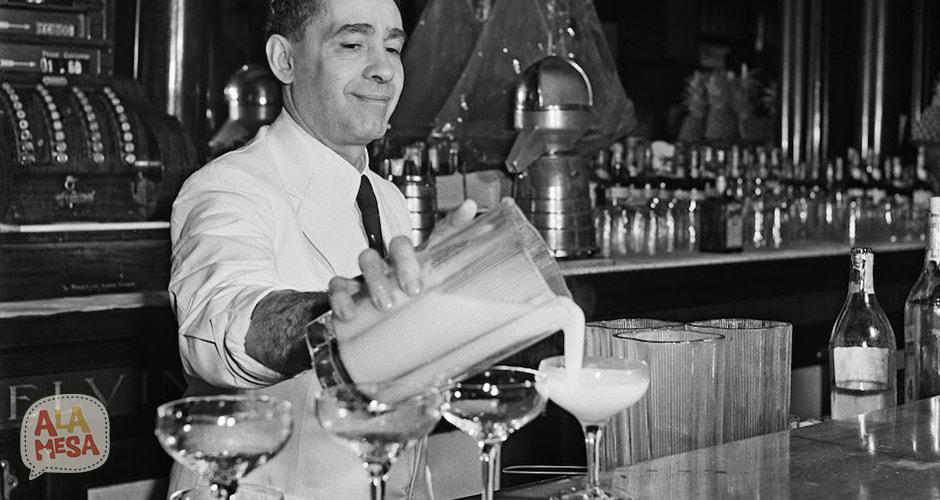 Cantinero en 1946. La Habana, Cuba.