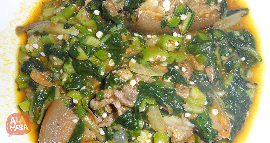 Sopa de quimbombó