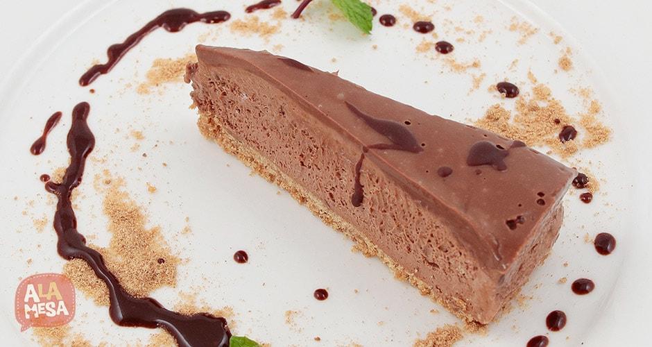 Tarta de chocolate. Maradentro.