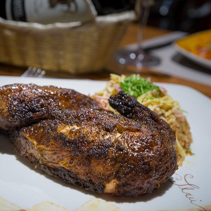 Pollo a la barbacoa - El Polinesio