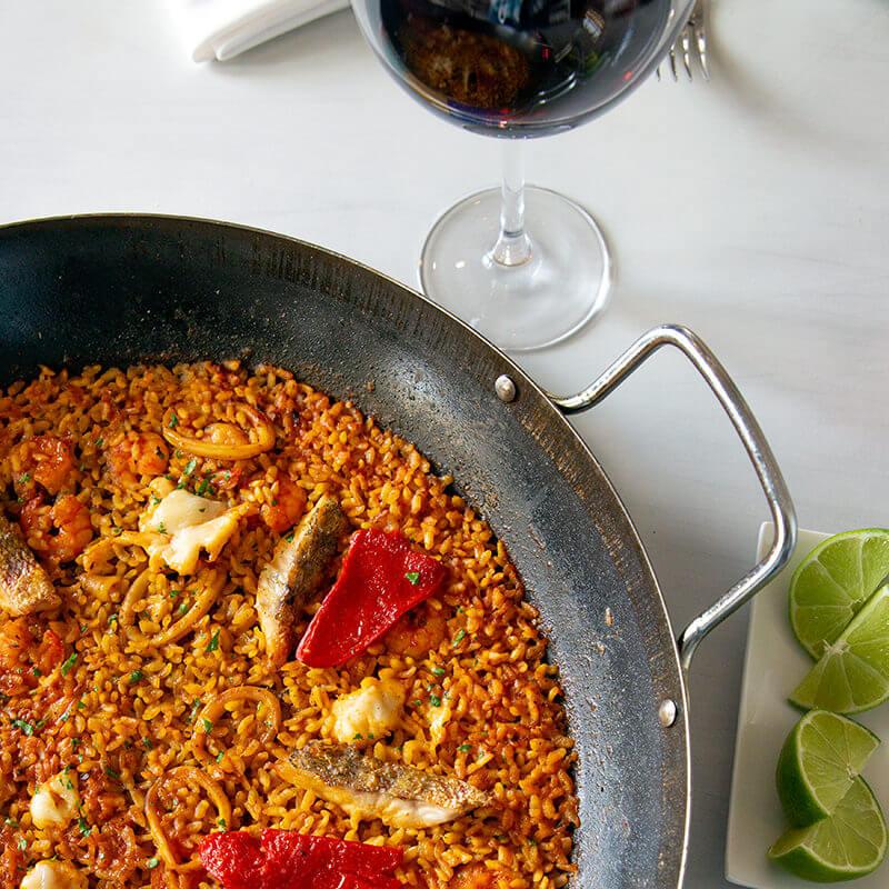 Paella - Restaurante MED - Meliá Cohiba