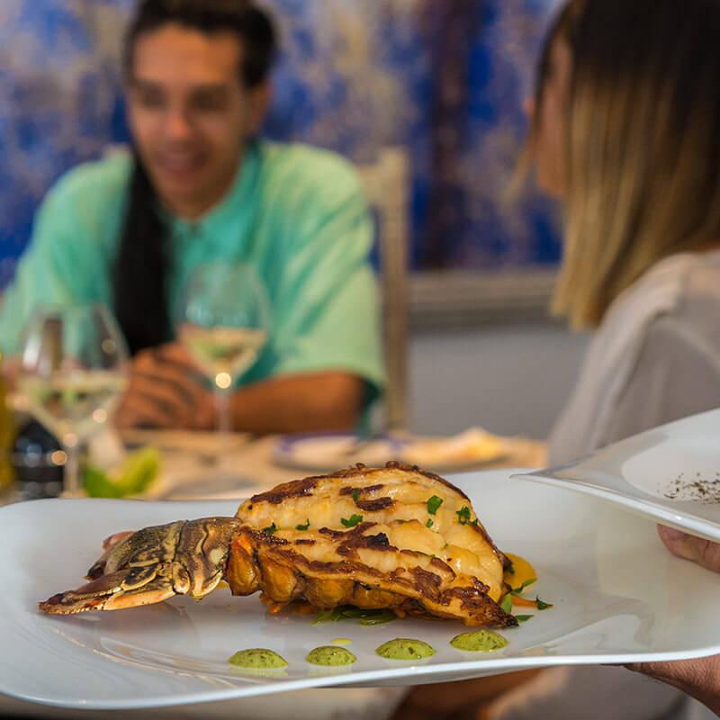 Langosta - Restaurante MED - Meliá Cohiba